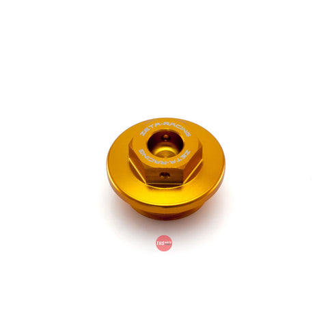 ZETA Oil Filler Cap 022274 Gold ZS89-2404