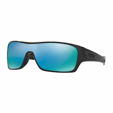 Oakley Turbine Rotor sunglasses in Polished Black frame with Prizm DpH2O Polarised lens - OA-OO9307-08