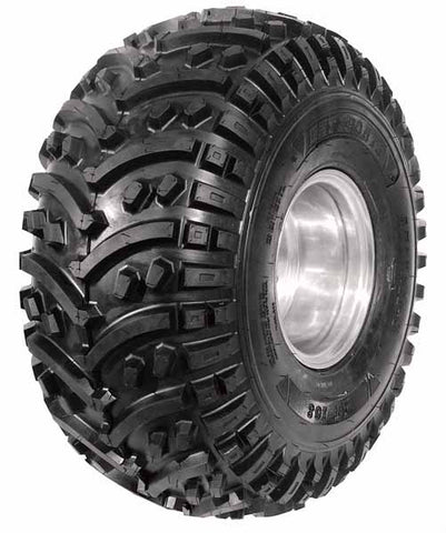 BKT AT 108 - has a tough all terrain construction with a bead to bead 4 ply rated nylon casing for increased puncture resistance