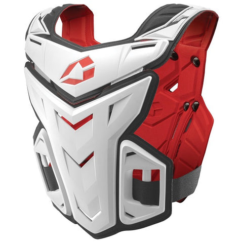 F1 Chest Protector - White