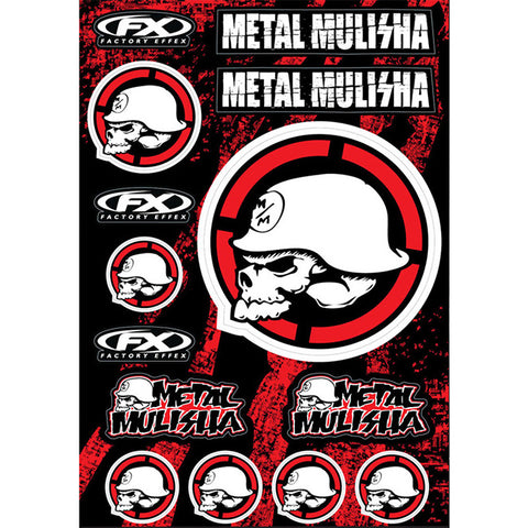 Factory Effex Metal Mulisha Sticker Sheet2