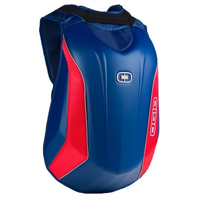 OGIO Mach 3 Blue-Gray-Red