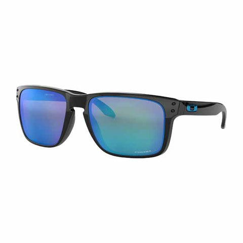 OA-OO9417-0359 - Oakley Holbrook XL Sunglasses in Polished Black frame with Prizm Sapphire lens