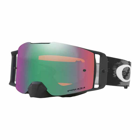 OA-OO7087-03 - Oakley Front Line MX adult goggles in Matte Black Speed frame with Prizm Jade Iridium lens