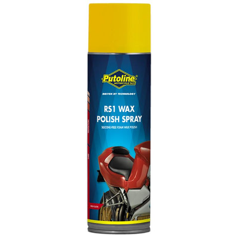 PUTOLINE RS1 WAX POLISH SPRAY 500ML (70315) *12
