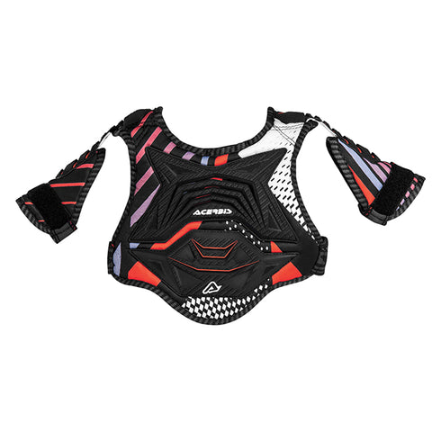CUB 2.0 Chest Protect0r Black Red 17946.323.063