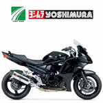 YM-1126205 Yoshimura R-77 stainless/stainless/carbon fibre slip on for 2007-2010 plus 2016 Suzuki GSF1250S Bandit and 2011-2016 GSX1250FA