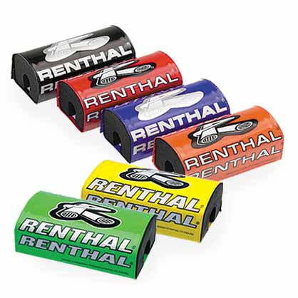 Renthal Fat Bar Pads are available in a range of colours (see also the Team Issue Bar Pads)