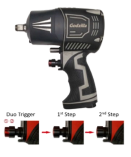 GODZILLA -1/2 COMPOSITE AIR IMPACT WRENCH
