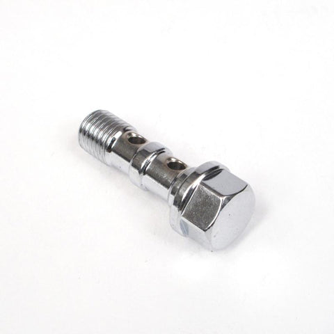 WHITES BRAKE - 10mm DOUBLE BANJO BOLT - CHR 10x1.25