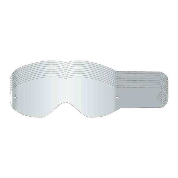 DRAGON YOUTH GOGGLE TEAR OFF - 10 PACK