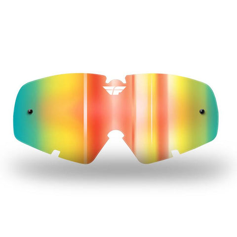 FLY ZONE/FOCUS GOGGLE LENS (2012-2018) YTH FIRE MIRROR/ SMO