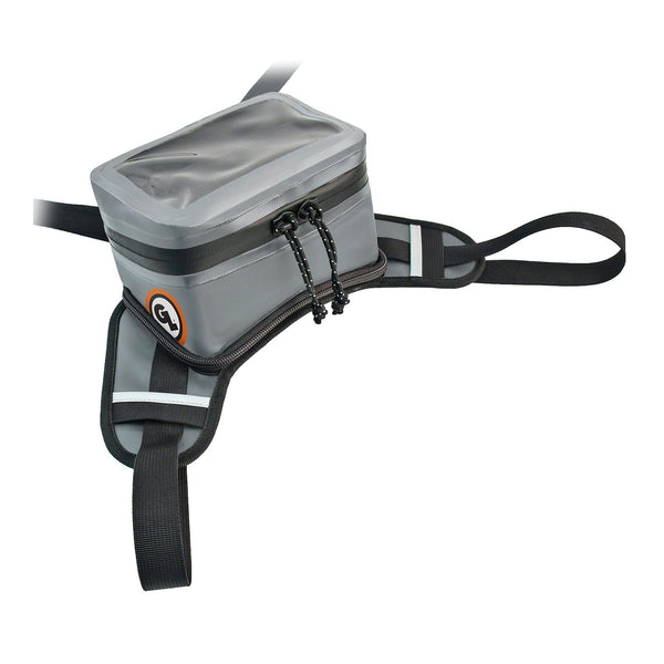 GIANT LOOP BUCKIN' ROLL TANK BAG - GRY