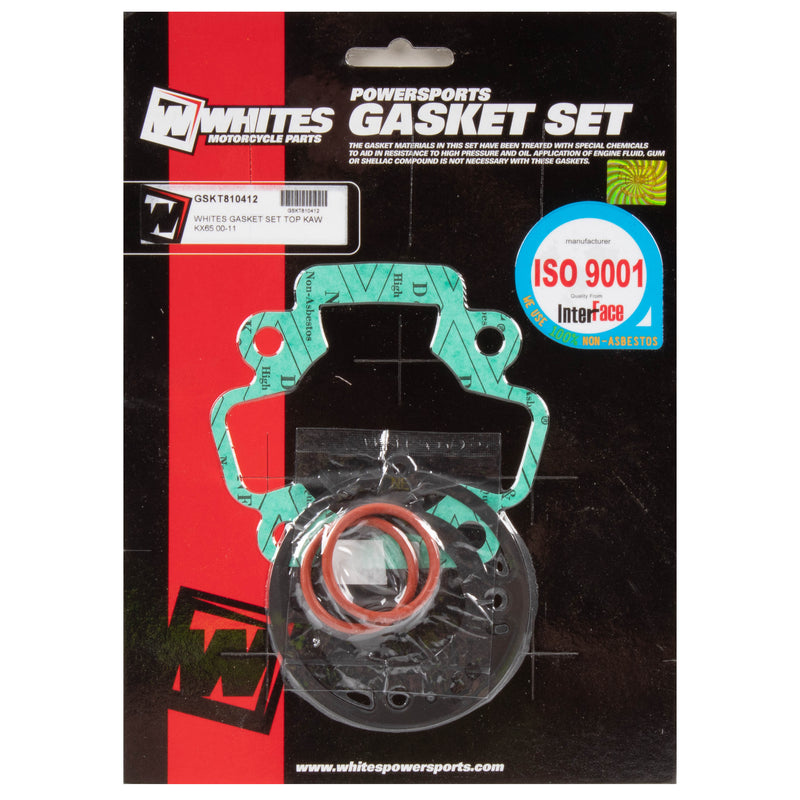 WHITES GASKET SET TOP KAW KX65 00-11