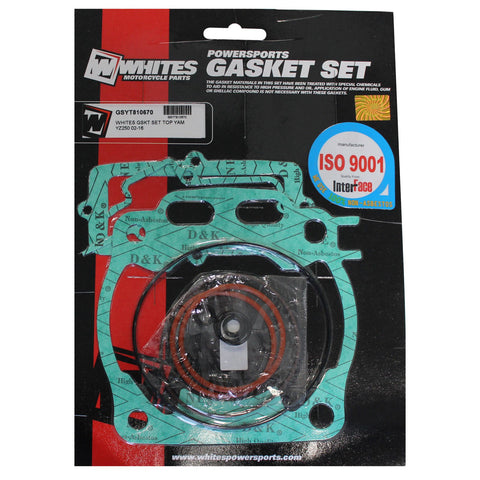 WHITES GASKET SET TOP YAM YZ250 02-16