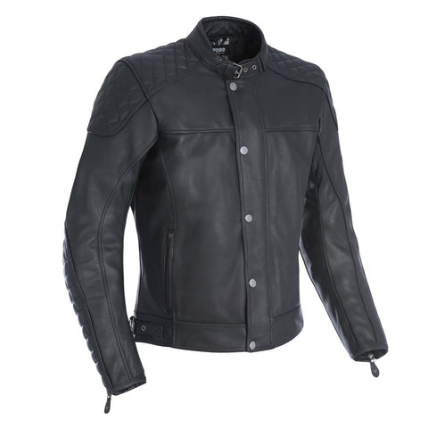 OXFORD Hampton Leather Jackets - Black