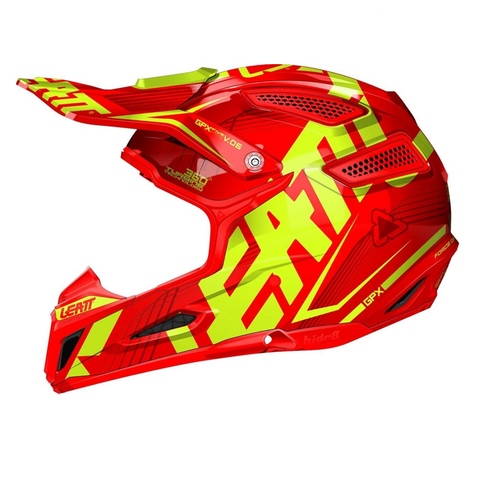 Leatt Gpx 5.5 JNR HELMET '17 V06 Orange/Yellow - Youth Medium 51-52cm