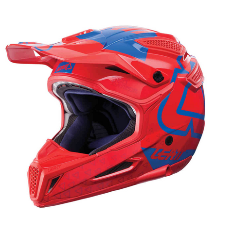 Leatt Gpx 5.5 HELMET '17 V15 RED/Blue Medium