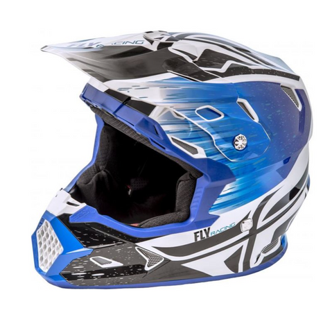 Fly Toxin Mips Helmet Resin Black/Blue