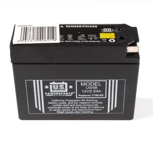 USPS AGM BATTERY US4B   YT4B-BS  *20
