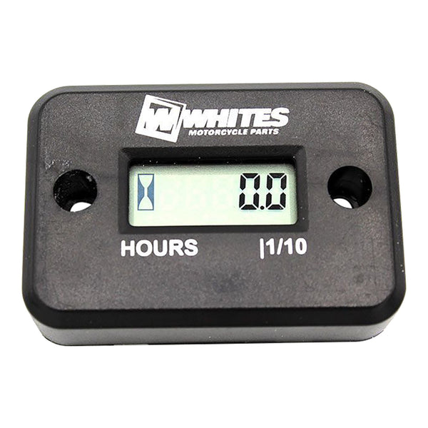 WHITES HOUR METER - BLK
