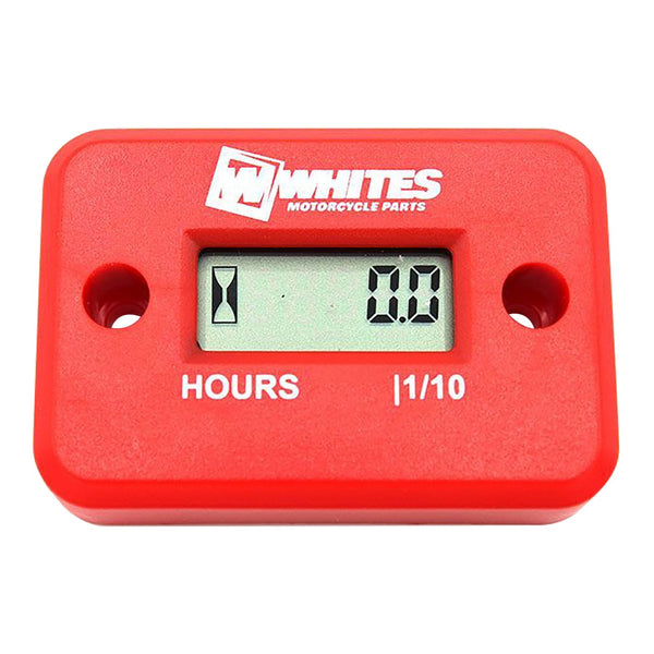WHITES HOUR METER - RED