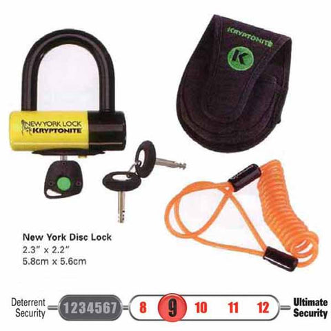 Kryptonite New York Liberty Disc Lock