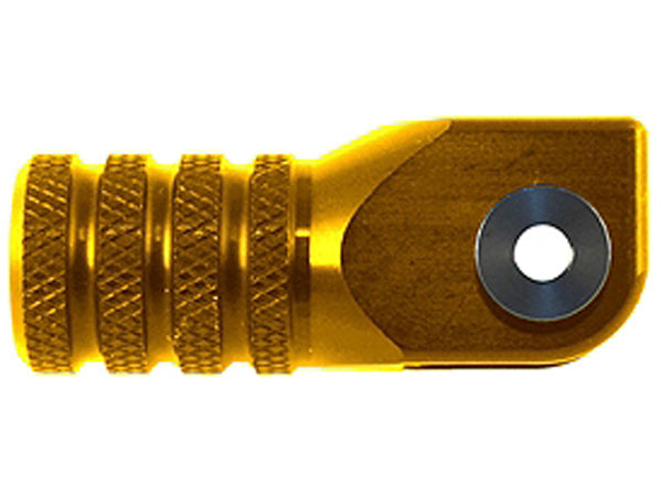 '+0-Gold-Hammerhead Gear Lever Knurled Shift