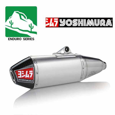 YM-224502D320 - Yoshimura RS-4 Enduro Series stainless/aluminium/carbon fibre slip-on for 2019 Honda CRF450X