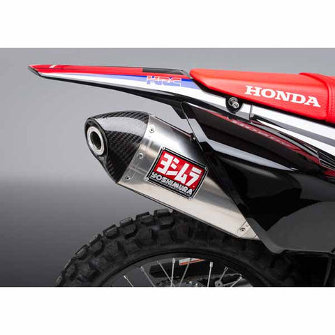 Yoshimura Race Series RS-4 slip on in stainless/stainless/carbon fibre for 2017-2018 Honda CRF250L/Rally - YM-123402D520