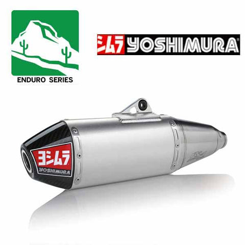 YM-224500D320 - Yoshimura RS-4 Enduro Series stainless/aluminium/carbon fibre full system for 2019 Honda CRF450X