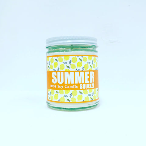 *New* 7 oz Summer Squeeze Candle w/ Lid