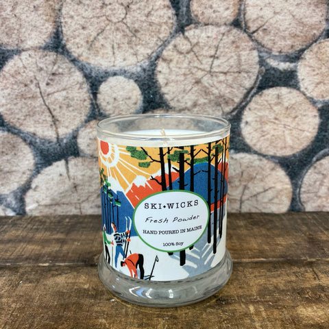 "*NEW* SKI WICKS ""Fresh Powder"" Candle"