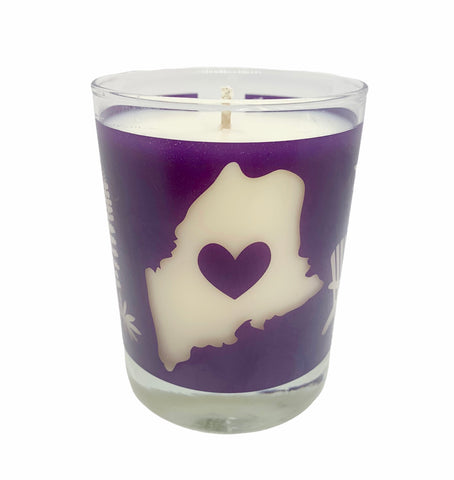 *New* Purple Maine Lupine Travelers Candle
