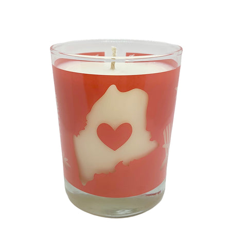 *New* Pink Maine Lupine Travelers Candle