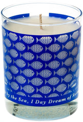 *NEW* Periwinkle SWIMMING FISH CANDLE