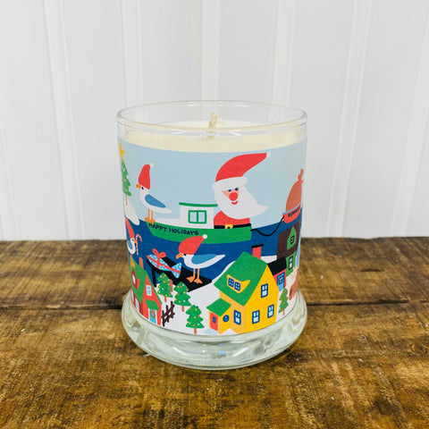 *NEW* Seaside Santa Holiday Candle by Trosko Design