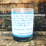 "Special Edition ""A cottage by the Sea""  Travelers candle"