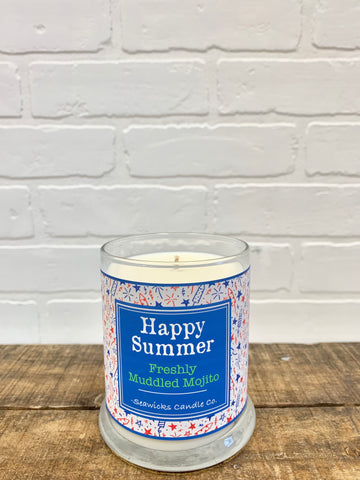 *NEW* SPECIAL EDITION 'HAPPY SUMMER' CANDLE