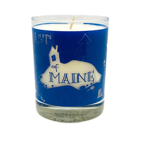 Coast of MAINE TRAVELERS Candle