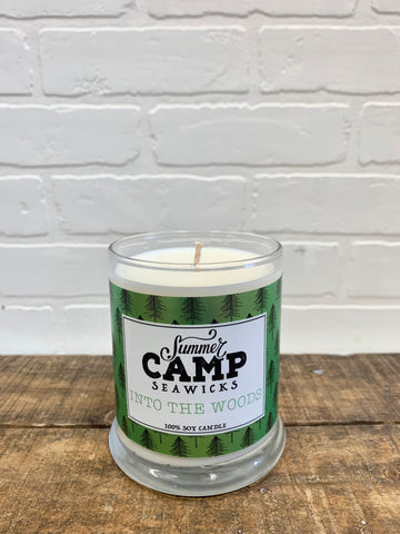 *NEW*  SUMMER CAMP 'INTO THE WOODS' CANDLE