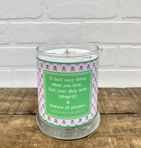 *NEW* SPECIAL EDITION PIRATE QUOTE CANDLE