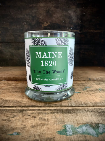 Limited Batch Maine 1820 Fraser Fir Candle