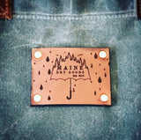 Maine Dry Goods Waxed Canvas Market Bag