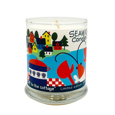 Limited Edition 'OFF TO THE COTTAGE' Candle