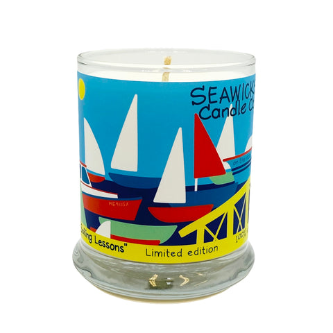 Limited Edition 'SAILING LESSONS' Candle