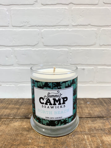 *NEW* SUMMER CAMP 'NORTH BEACH' CANDLE