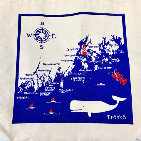 Trosko Design Penobscot Bay Towel