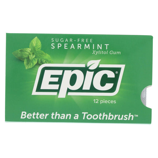 Epic Dental - Xylitol Gum - Spearmint - Case Of 12 - 12 Pack-buy Epic Dental - Xylitol Gum - Spearmint - Case Of 12 - 12 Pack-Epic Dental - Xylitol Gum - Spearmint - Case Of 12 - 12 Pack near me-Epic Dental - Xylitol Gum - Spearmint - Case Of 12 - 12 Pack walmart-best place to buy Epic Dental - Xylitol Gum - Spearmint - Case Of 12 - 12 Pack-grocery delivery-subscription boxes-grocery delivery near me-grocery delivery service-vegan grocery store online