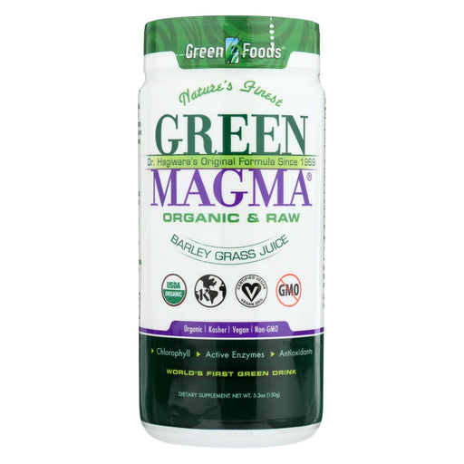 Green Foods Dr Hagiwara Green Magma Barley Grass Juice Powder - 5.3 Oz-buy Green Foods Dr Hagiwara Green Magma Barley Grass Juice Powder - 5.3 Oz-Green Foods Dr Hagiwara Green Magma Barley Grass Juice Powder - 5.3 Oz near me-Green Foods Dr Hagiwara Green Magma Barley Grass Juice Powder - 5.3 Oz walmart-best place to buy Green Foods Dr Hagiwara Green Magma Barley Grass Juice Powder - 5.3 Oz-grocery delivery-subscription boxes-grocery delivery near me-grocery delivery service-vegan grocery store online